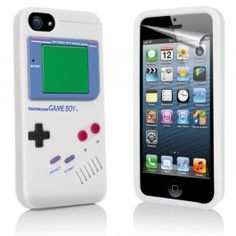 GRATIS iPhone 5 Gameboy Hoesje - Wit (t.w.v. €16,95) - Hoesjes - iPhone 5 - Telefoon Accessoires