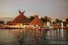 Sunset Admiral Yacht Club #Nichupte #Cancun