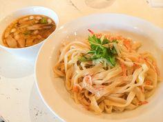 渋谷 ガハハ食堂のランチ限定「海老出汁醤油つけ麺&タイ式蒸し鶏飯」が超ウルトラうまくて毎日通いたい : 941::blog