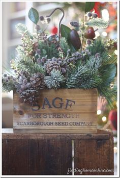 Easy Christmas Decorating Ideas  with Finding Home