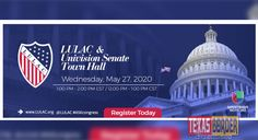 The League of United Latin American Citizens (LULAC) and Univision News will host a virtual town hall with U. Senators to discuss the economic crisis triggered by the pandemic in Latino and minority communities Hispanic American, Cory Booker, Spanish Language, Town Hall, Civil Rights, Wednesday, Texas, Community, The Unit