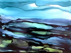 Rondane Art Print by Amie Brand Art - X-Small Alcohol Ink Painting, Buy Frames, Printing Process, Abstract Art, Gallery Wall, My Arts, Fine Art, Art Prints, Norway