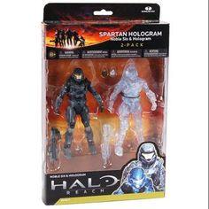 McFarlane Halo Reach Series 4 Spartan Hologram Action Figure 2-Pack