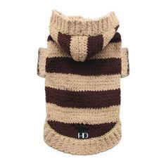 Striped Sweater Hoodie