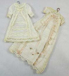 Aged Christening dresses by Janny Warnaar