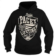 Last Name, Surname Tshirts - Team PACEY Lifetime Member Eagle - #hostess gift #cool hoodie. GET YOURS => https://www.sunfrog.com/Names/Last-Name-Surname-Tshirts--Team-PACEY-Lifetime-Member-Eagle-Black-Hoodie.html?60505