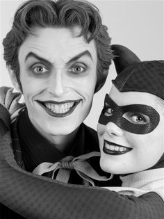 Anthony Misiano et Alyssa King alias Le Joker et Harley Quinn