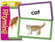 """16 Pack TREND ENTERPRISES INC. POCKET FLASH CARDS RHYMING 56-PK by Trend. $47.04. Skill-building fun on the go! Kids love these colorful cards for learning new facts and practicing skills. An ideal quiet-time activity, Pocket Flash Cards are even more fun with friends. Best of all, they're value-priced so you can keep a wide variety of titles on hand.-Durable cards, no see-through-56 two-sided cards per set-3 1/8"""" x 5 1/4"""""""