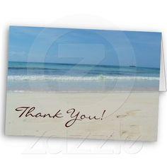 White Beach - Thank You Card
