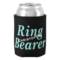 #bridal - #BRIDE & CO Ring Bearer Party Insulated Can Cooler