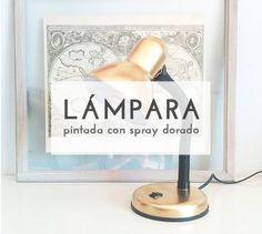 Convierte una vieja lámpara en una completamente nueva y decorativa #diy #decoracióndiy