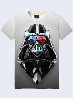 Mens  DARTH VADER ART TV  Fashion Style 3D Print T-Shirt Size S-2XL #Vilno #GraphicTee