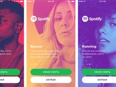 spotify app concept designed by pedro mendes. Connect with them on Dribbble; App Design, Mobile Design, Duo Tone, Brand Guide, Gift Card Generator, Music Promotion, Music App, Ui Web, Web Layout