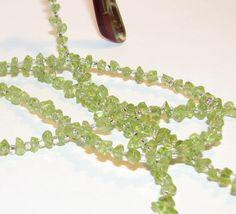 Peridot Beaded Lanyard Eyeglass Chain Office Badge ID by nonie615, $16.00