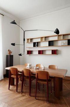 Standard chair - Jean Prouvé - Vitra - Modernist interior - Kinfolk book 1 - Jonas Ingerstedt photography