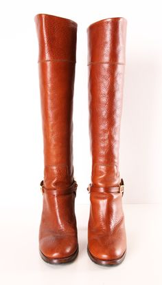 RALPH LAUREN BOOTS! I don't care what designer I just love the burnt orange look. I need to get some!!!!!!!!! -Jenn B.