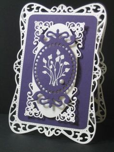Pocket Silhouettes and Spellbinders by cmagro - Cards and Paper Crafts at Splitcoaststampers