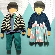 Sweet mountain print from Anglo/China based Milk and Biscuits kids fashion label at Playtime Paris