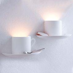 coffee cup lighting!