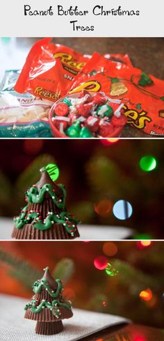 Click the Pic for Easy recipe Peanut Butter Christmas Trees Peanut Butter Tree, Reeses Peanut Butter, Christmas Tree Cookies, Christmas Trees, Christmas Chocolate, Best Cookie Recipes, Chocolate Peanuts, Melting Chocolate, Favorite Holiday