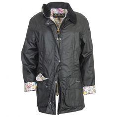 Ladies Print Beadnell Jacket
