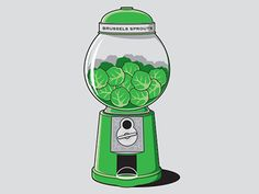 Brussel Sprouts Machine