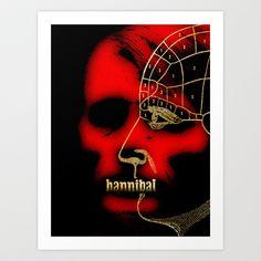 Hannibal Art Print by Albert Lewis - Fan Prints - $19.00