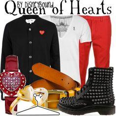 Disneybound | Queen of Hearts (Alice in Wonderland)