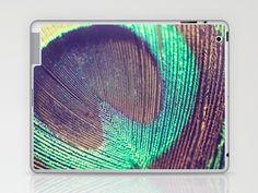 Peacock iPAD Skin