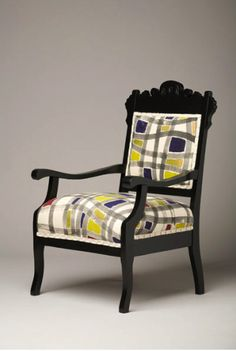 Love the antique furniture with contemporary upholestryideas for grannies things