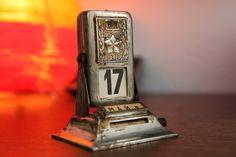 Vintage Sowjet Tischkalender