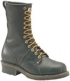 Carolina 905 10 in. Linesman Boot - MADE IN USA Black Size 7 D Carolina. $159.99