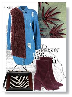 """""""#89 DENIM SHIRT DRESS"""" by ruby-darke on Polyvore featuring NOVICA, Home Decorators Collection, Boohoo, Kendall + Kylie, Iris and Mulberry"""