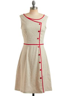 I love love LOVE ModCloth.com ... they remind me of the days of Lucille Ball and Ava Gardner. Where ladies wore these gorgeous dresses as part of their daily fashion. Too bad this dress here was sold out. I've asked to be notified so I can snag it next time!