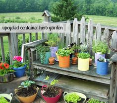 More herb containers