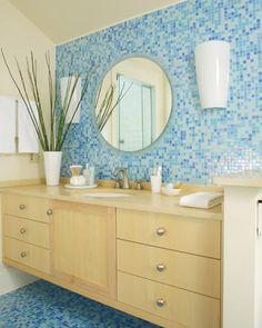 Bathroom Tiles S 1950s bathroom | 1950's yellow and green bath tile redo, green