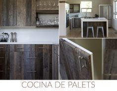 ideas diy decoration cocina palets