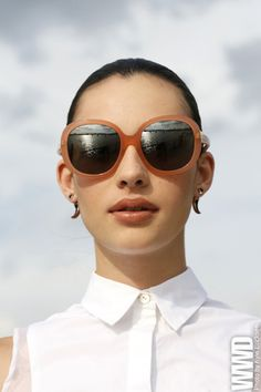 d33cacccf2b Eyewear Trend  Neutral Zone This season s sunglasses look fresh in muted  shades of beige