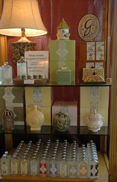 Greenleaf Aroma Decor display at Mary & Martha Home in Highland, IN