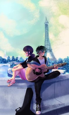 tell me why'd you have to have  such a damn good taste in music?  yea if all my favorite songs  make me think of you  i'm gonna lose it   watch out adrien, guys with guitars…..?