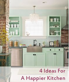 Happier Kitchen Graphic 4 Ideas for a Happier Kitchen   Pinterest Fab 4