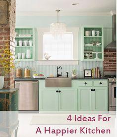 Happier Kitchen Graphic 4 Ideas for a Happier Kitchen   Pinterest Fab 4