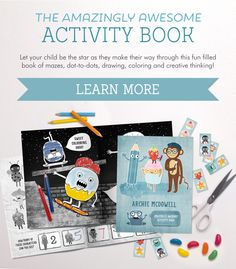Shop the Amazingly Awesome Activity Book now