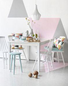 """""""Het mooie van de #Cream #Ceramics #trend is dat #vintage #meubels hier heel goed in passen! Knap je vintage meubels op door een likje verf in één van de #trendy #kleuren en je meubel past feilloos in dé #woontrend van 2015 – 2016."""""""