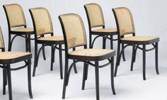 Cadeiras originais: de Michael Thonet, modelo 811: a madeira moldada no vapor e a palha ganharam o mundo Terceiro / Divulgação