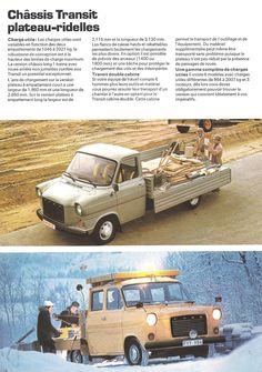 1977 Ford Transit brochure in French