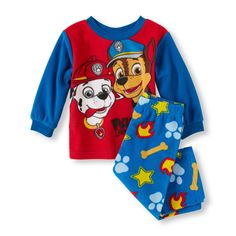 Baby/Toddler Boys Paw Patrol 2 Piece Pajama Set Size 2T BNWT! Marshall & Chase #Nickelodeon #Everyday
