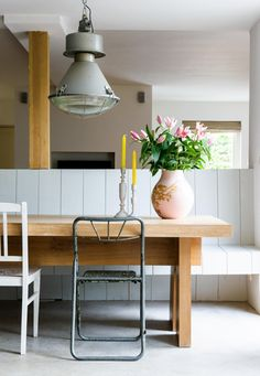 Industrial modern Dutch home - interior inspiration