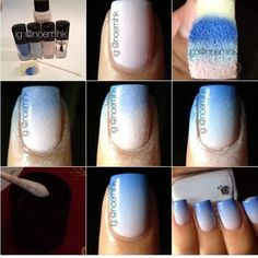 Have a seriously fun manicure session with this ombre nail art in gorgeous blue hues. Check out this pictorial and how-to to nab this look in a snap!