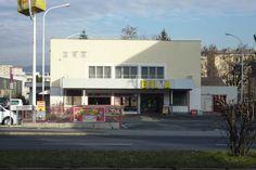 Filiale Nr. 25, Wiener Straße 234: auf diesem Foto (schon etwas her) fehlt bereits ein Buchstabe, mittlerweile ist BILLA hier - wo ganz früher das Lichtspielhaus Gösting war - auch schon Geschichte ...